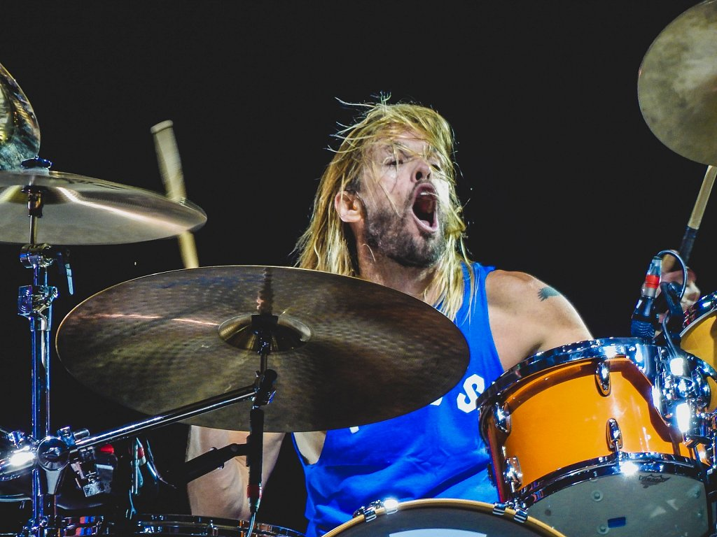 Tylor Hawkons of Foo Fighters