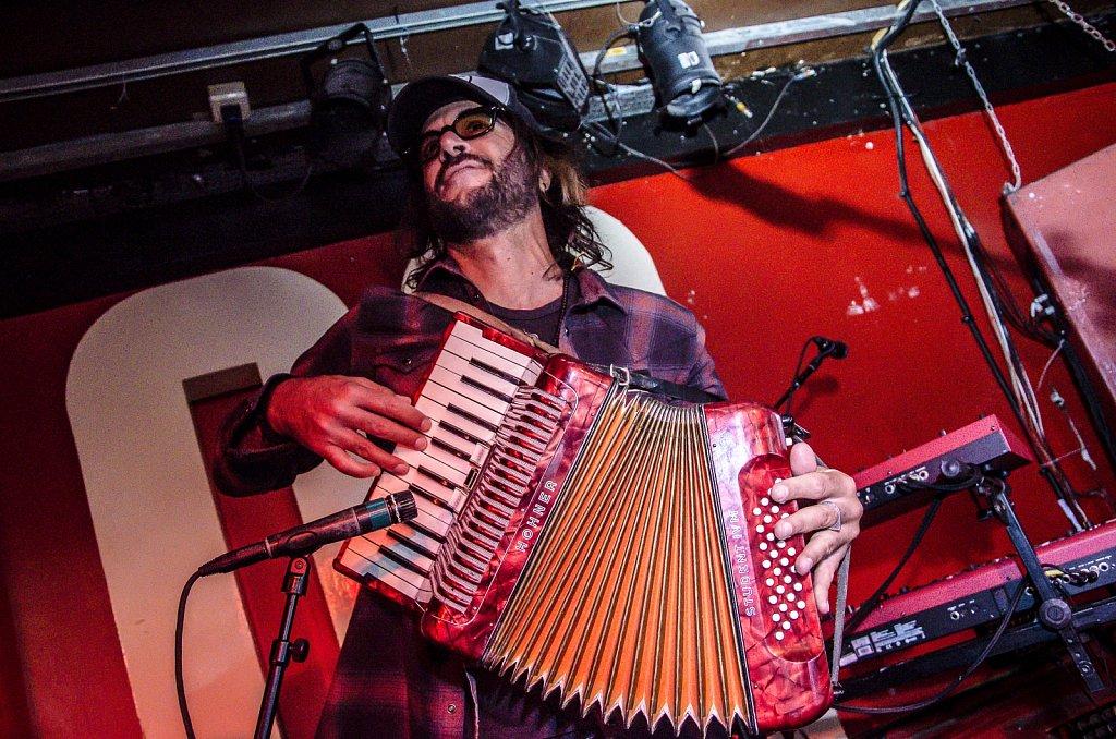 Rami Jaffee playing with Chris Shiflett @ 100 Club, London